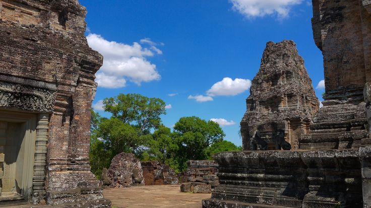 Angkor Wat - East Mebon Temple Cambodia - For more on Angkor Wat travel check out http://ajourneyintotheunknown.com/angkor-wat-best-temples/