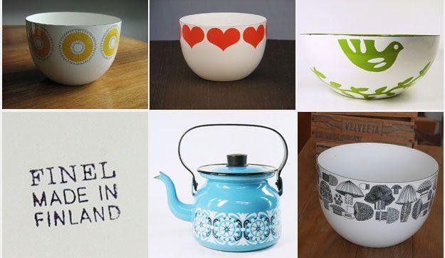 Finnish Designer Kaj Franck Ceramics