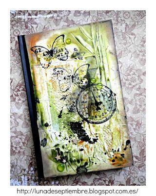 notebook; DiY; steampunk