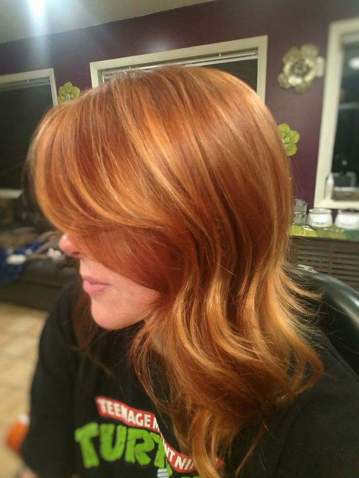 Best 25 Copper Blonde Hair Color Ideas On Pinterest