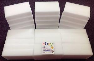 30-BULK-PACK-Magic-Sponge-Eraser-Melamine-Foam-Cleaning-3-4-034-Thick-USA-Seller