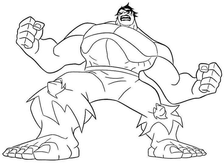 Ausmalbilder Hulk Hulk Zum Ausdrucken: 10 Besten Ausmalbilder HULK Bilder Auf Pinterest
