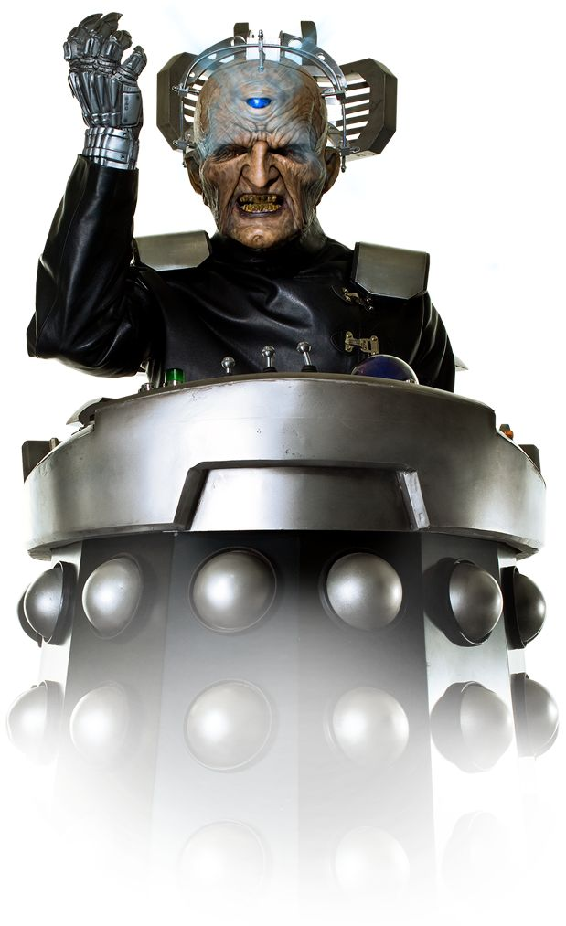 DAVROS FIRST APPEARED 1975 Davros was Chief Scientist of the Kaleds towards the end of their thousand year war with the Thals on the planet Skaro. Confined to a mobile life-support system, Davros developed a final solution to end the war: The Daleks – mutated Kaleds robbed or morality and with added aggression, placed inside armored shells called the Mark III Travel Machines.