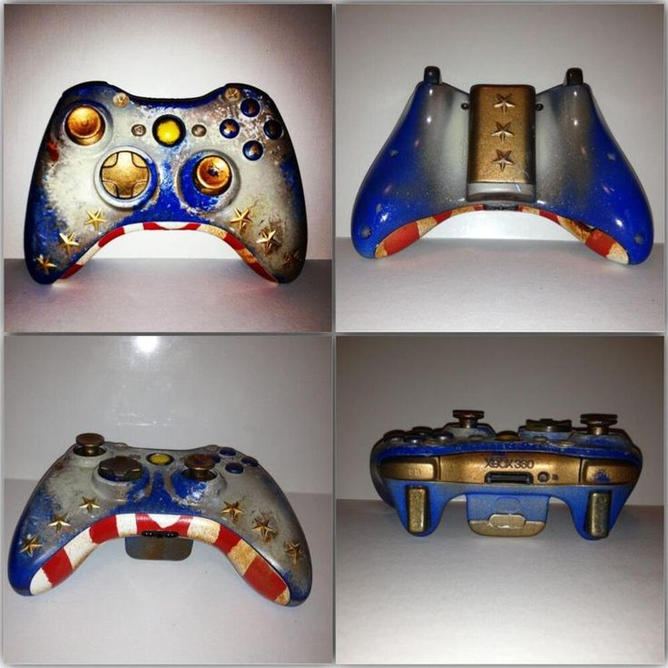 BioShock Infinite inspired Xbox 360 controller