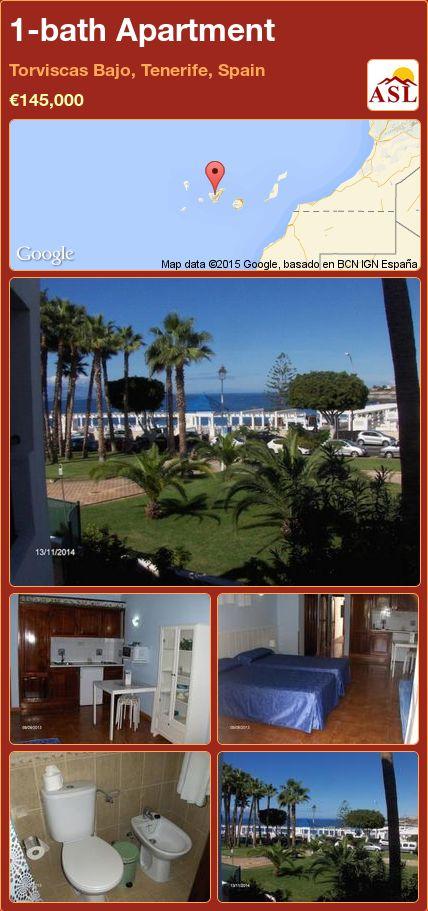 1-bath Apartment in Torviscas Bajo, Tenerife, Spain ►€145,000 #PropertyForSaleInSpain