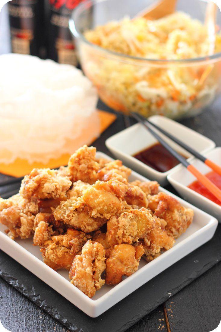 Pollo frito japonés …
