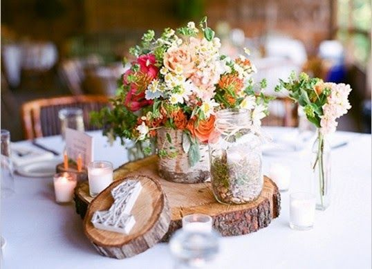 289 best rustic wedding images on pinterest rustic wedding theme most stunning round table centerpieces rustic wedding junglespirit Image collections