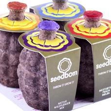 Seedbom - create a beautiful flowery garden in one easy step!