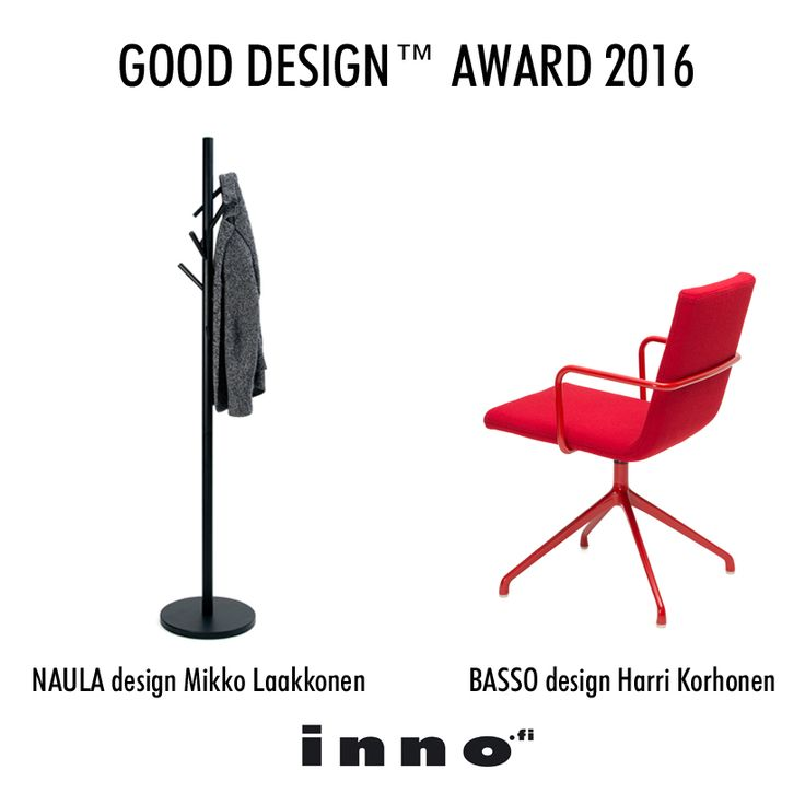 Naula and Basso awarded with the internationally recognized GOOD DESIGN™ 2016 Award