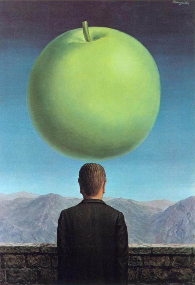 The Postcard (1960) Rene Magritte