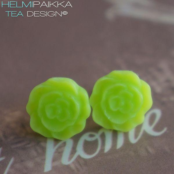 Limenvihreät kukkanapit