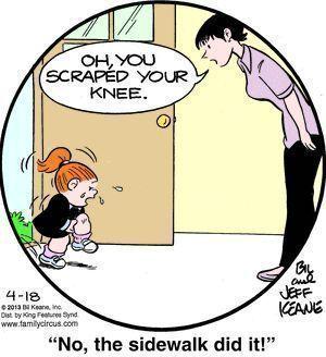 Family Circus Cartoon for Apr/18/2013
