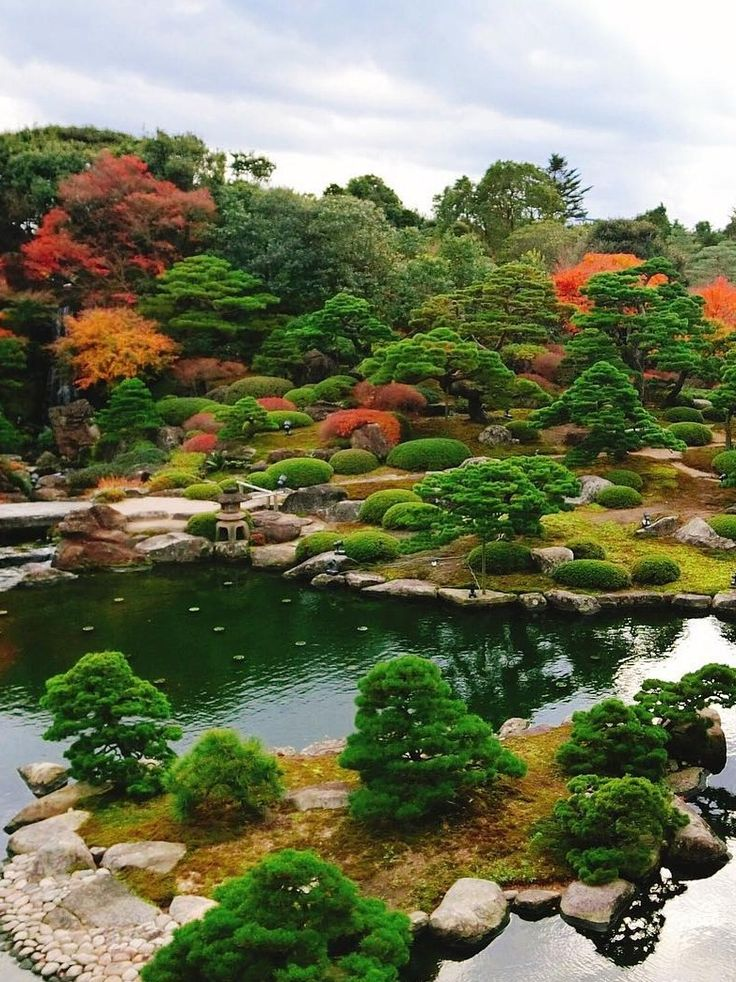 Yuushien Garden, Matsue, Shimane, Japan