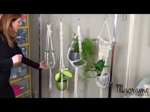 Download video: #1 of 4: Macrame Plant Hanger for Beginners DIY Tutorial