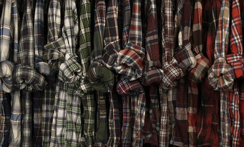 Flannel is a must have. Always will be. I wear it pretty much every day... <3 Flannel