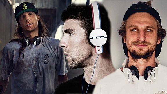 SOL Republic headphones signs Erik Ellington and Lizard King to join Olympian Michael Phelps - ESPN