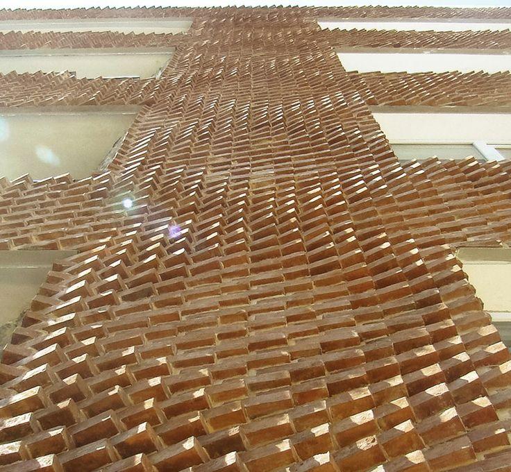 sstudiomm negative precision brick laying pattern designboom