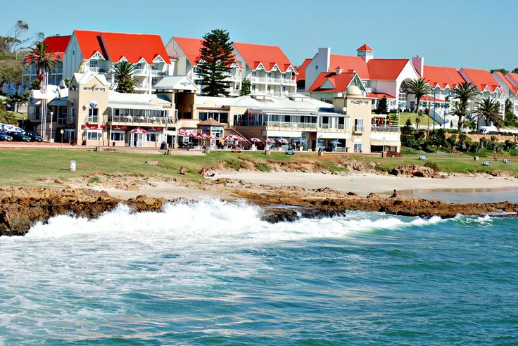 A view of Port Elizabeth, South Africa from the pier