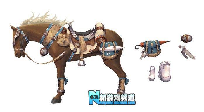韩国赛马网游《艾莉西亚》游戏原画公开 - 新游戏频道 - 多玩游戏网