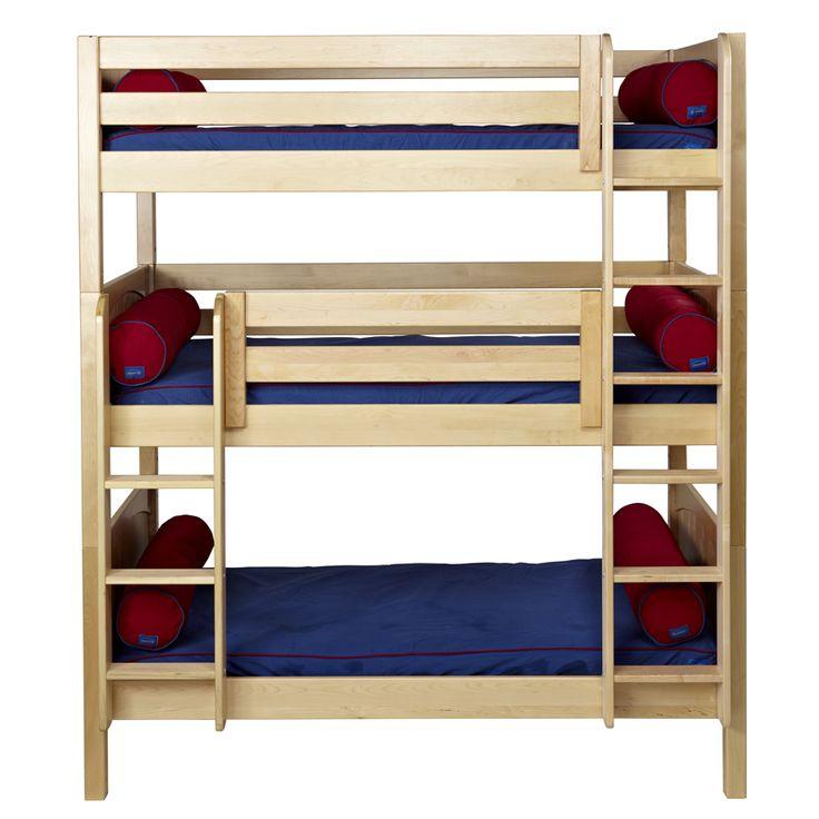 Best 51 Best Triple Bunk Beds Images On Pinterest Child Room 400 x 300
