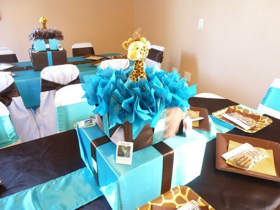 Giraffe Centerpieces For Baby Shower | Baby Shower Ideas / Giraffe Baby  Shower Centerpiece
