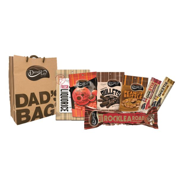 It wouldn't be Father's Day without a Darrell Lea DAD's BAG!