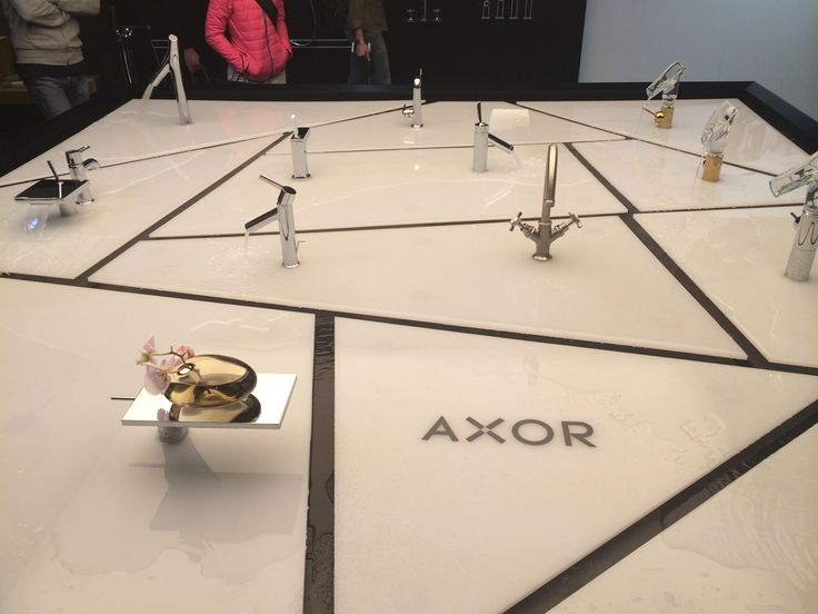 #Axor products during #SalonedelMobile2016