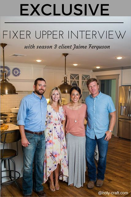 exclusive fixer upper interview with a client from HGTV's hit show