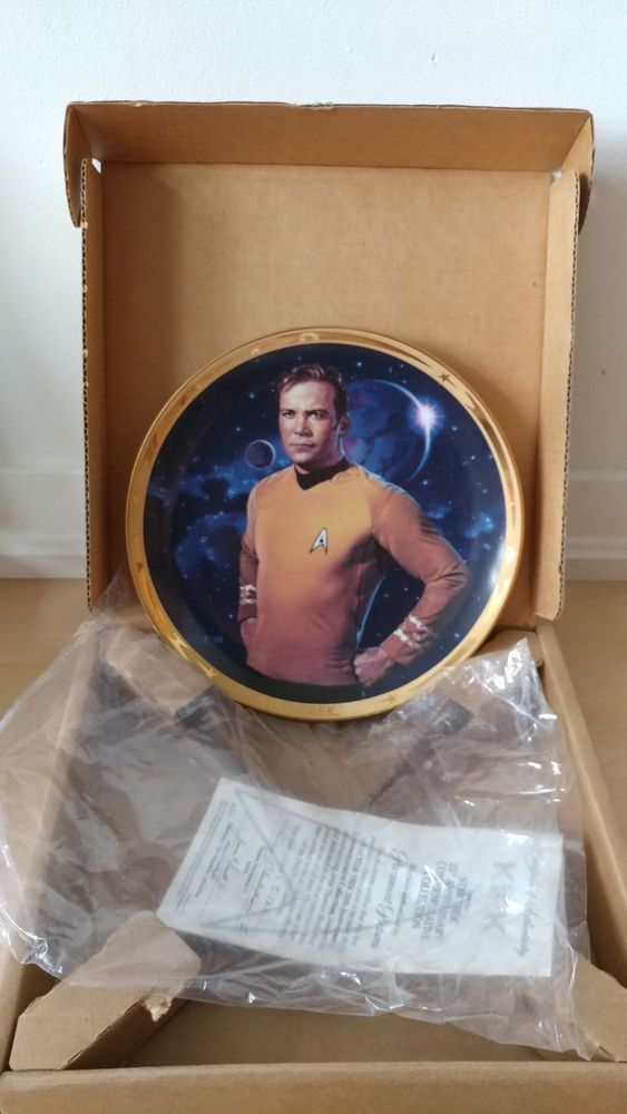 Star Trek - 25th Anniversary Hamilton collector KIRK plate