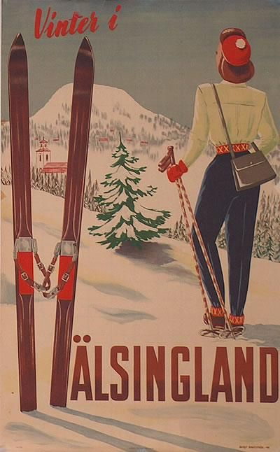 Sweden - Vinter i H�lsingland Sverige