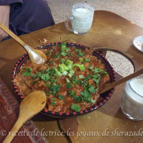 Zviti slata mehress recette traditionnelle alg rienne recipe - Cuisine algerienne traditionnelle ...