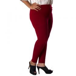 PLUS SIZE  LEGGING MERAH / HITAM  I www.fashionbiz.co.id