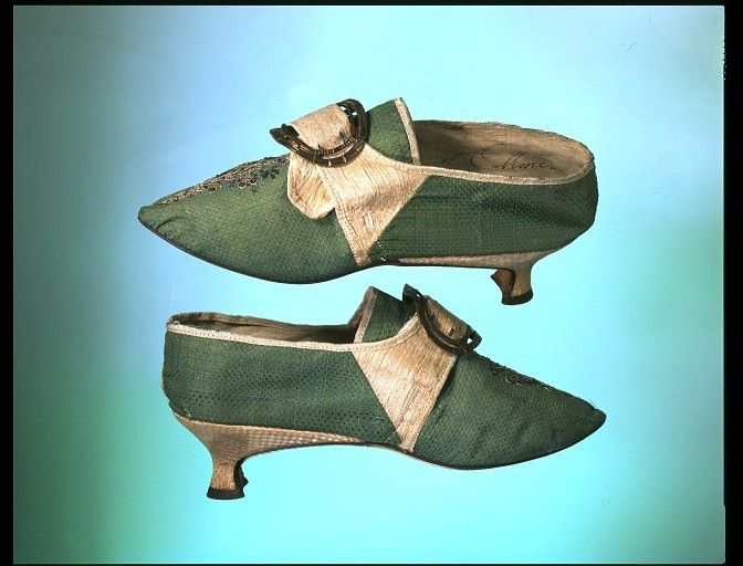 Shoes, 1770-85 United Kingdom, Victoria & Albert Museum