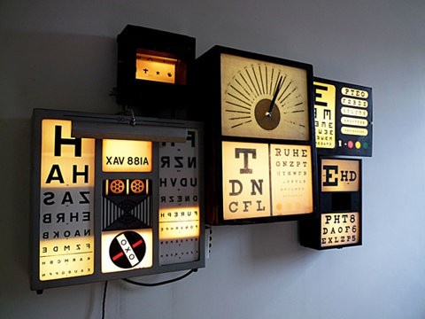 Wanted a snellen chart for a while now, this is an amazing idea!