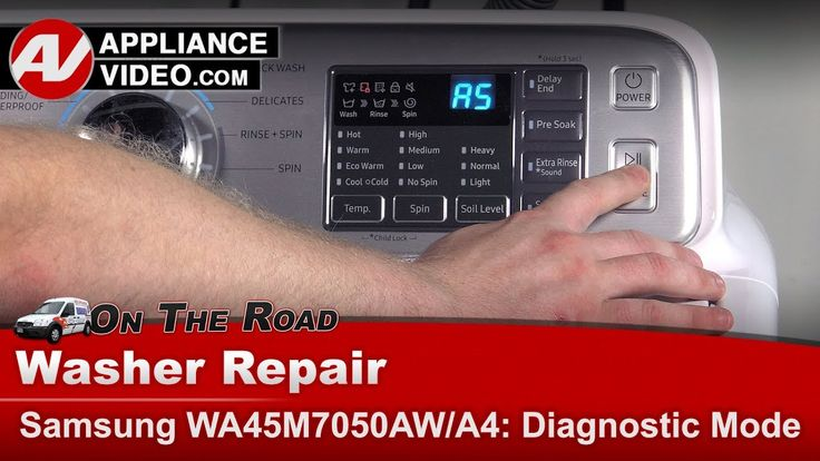 Samsung Washer How To Enter Into Diagnostic Mode Error Codes Troub Samsung Washer Washer Washer Repair