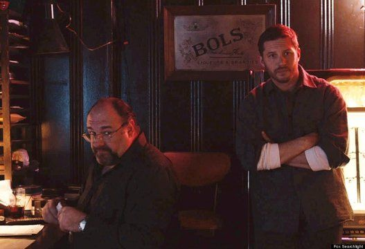 """""""The Drop"""" (Sept. 12) Beyond this being James Gandolfini's last film, Tom Hardy plays with a dog."""