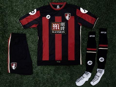 New AFC Bournemouth Kit 2015-16- JD AFCB Home Shirt 2015-2016