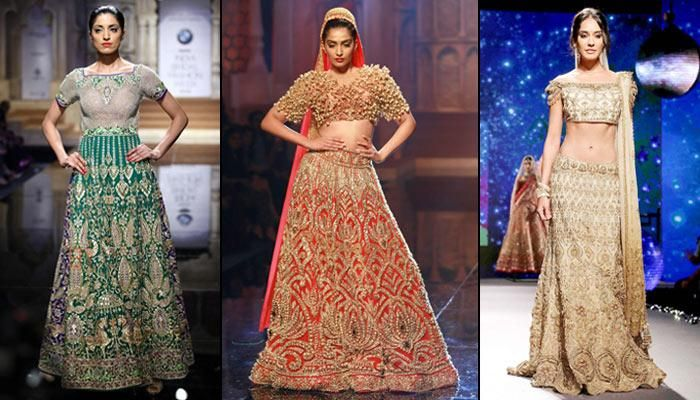 Top 25 Picks From BMW India Bridal Fashion Week 2015 For Every Soon-To-Be Bride