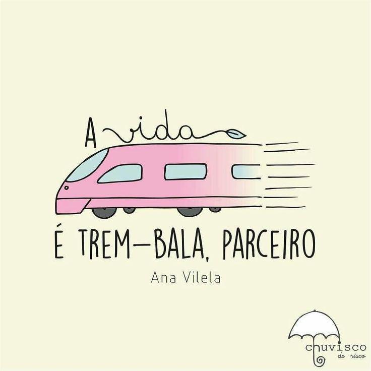 "https://youtu.be/WescgIWUeMc Ana Vilela - ""Trem bala""!!"