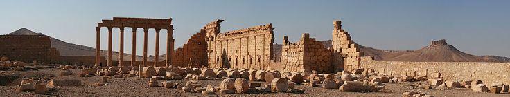Vista panorámica de Palmira - Palmira - Wikipedia, la enciclopedia libre