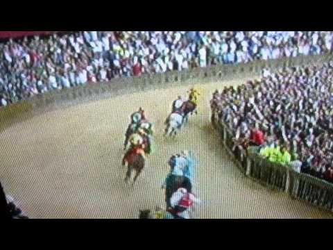 Palio di Siena 02 luglio 2014 drago wins - YouTube
