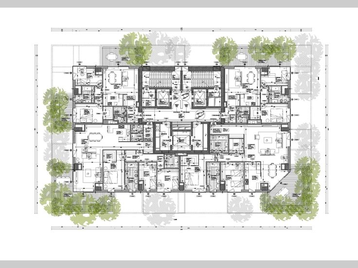 Edifici residenziali bosco verticale p i i isola for Log home planimetrie