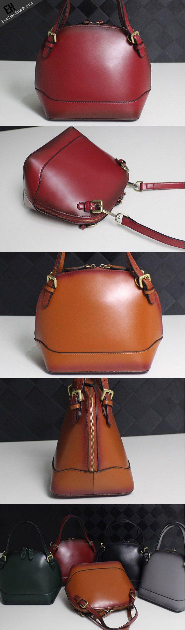 Leather handbag shoulder bag yellow brown black red gray for women leather crossbody bag