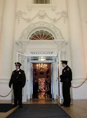 The White House entrance has a number of notable ghost fixtures. A torch-wielding British soldier (likely the same from #6 on this list) is often seen standing outside the front door. People have also reported seeing long-deceased White House ushers and doormen still tending to their duties. Perhaps most bizarre is the ghost of Anne Surratt, whose mother Mary was hang