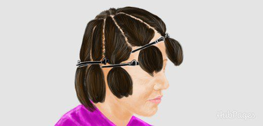 Sectioning hair: How to highlight your hair at home.