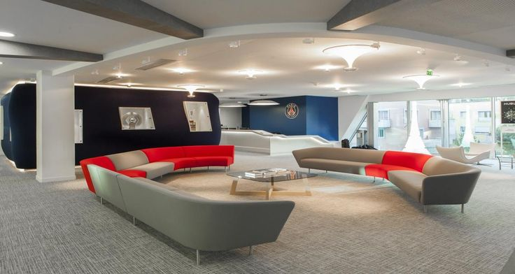 Reception of PSG's offices in Boulogne, France