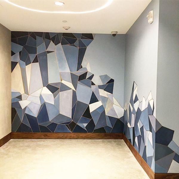 Murals - Geometric Mural