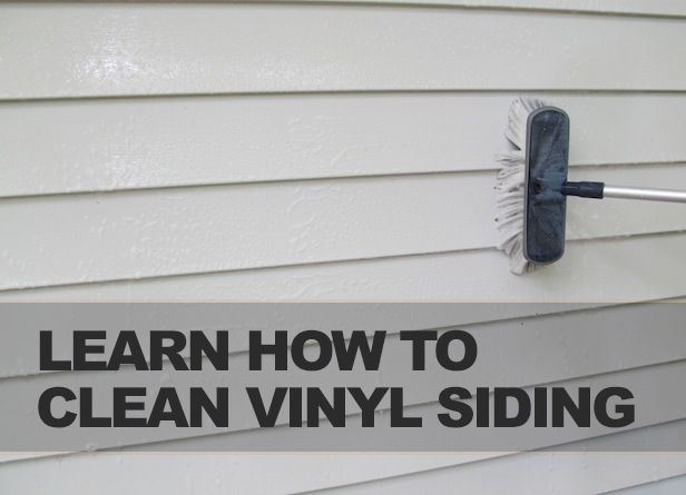 How to Clean Vinyl Siding >> http://blog.diynetwork.com/maderemade/how-to/diy-how-to-carve-a-custom-stamp/?soc=pinterest