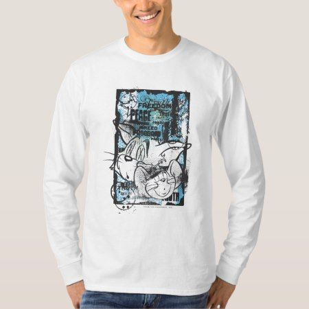 Tom and Jerry Grimey T-Shirt - click/tap to personalize and buy