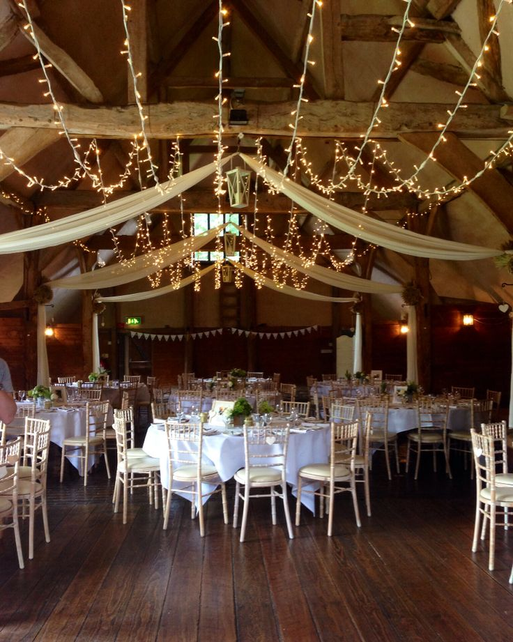 Our fairy light canopy at the gorgeous Lains Barn #wedding #lighting & 21 best Our Canopies // Multi-Swag images on Pinterest | Wedding ...